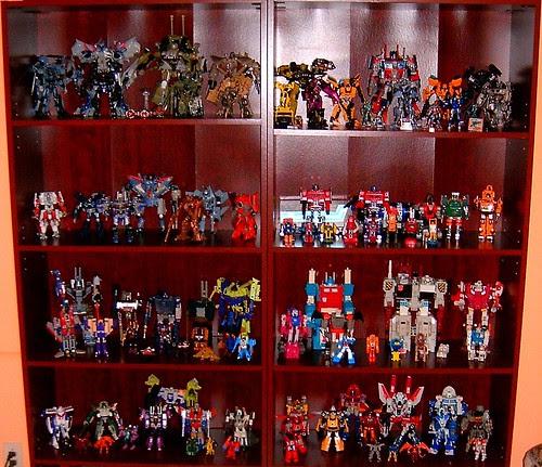 Mi colección de Transformers (17/Dic/2007)