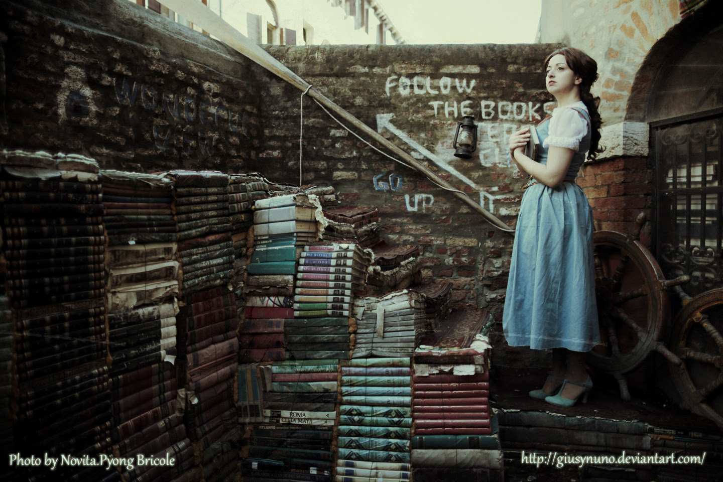 (Book) Staircase to Adventures - Belle by giusynuno