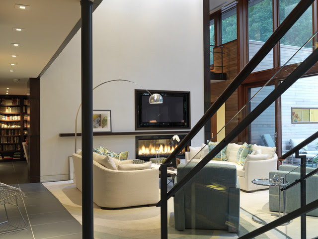 Woodvalley House - Interiors - contemporary - living room ...