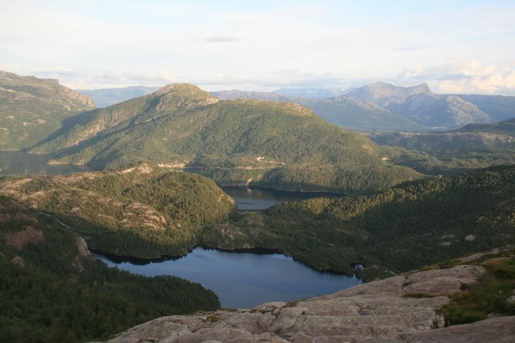 Utsikt mot Nordalsfjorden fra Rimstølen