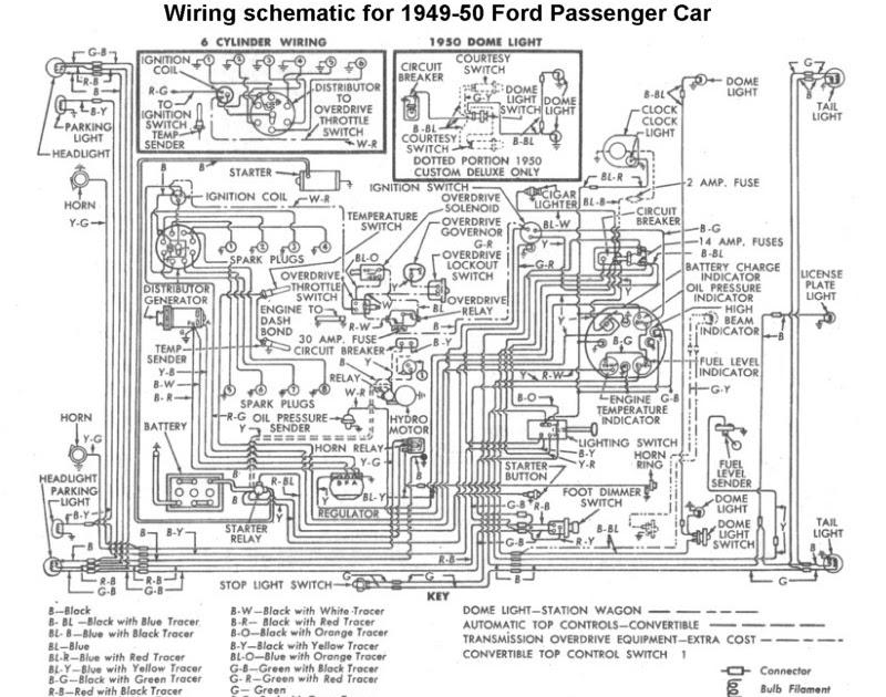 1950 American Motor Wiring Diagram
