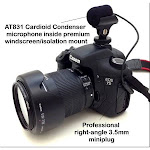 AT831-Dslr - Sound Professionals - AT831 Audio Technica Cardioid Microphone for Mounting on A DSLR Camera Hot Shoe