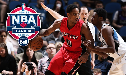 Raptors To Participate In Annual NBA Canada Series