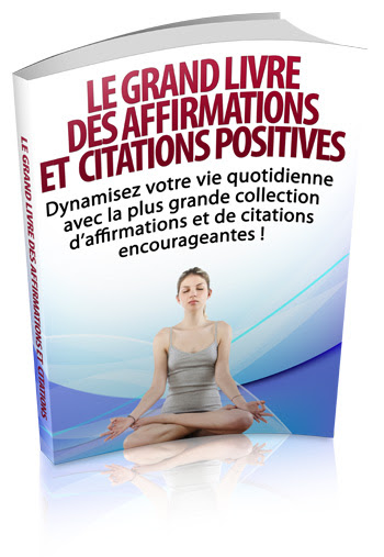 affirmation positive, pensée positive, auto-suggestion,  citation positive