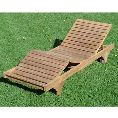 Teak Wood Chaise Lounge - Sam's Club