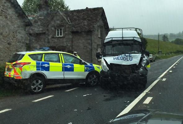 Police crash