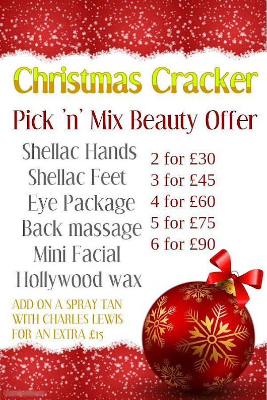 Xmas Special Offer - Beauty Salon Kirkstall, Leeds