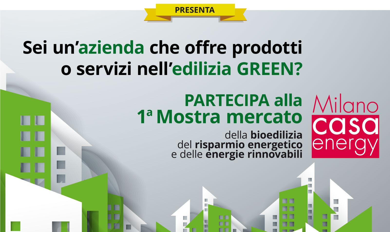 Partecipa a Milano Casa Energy