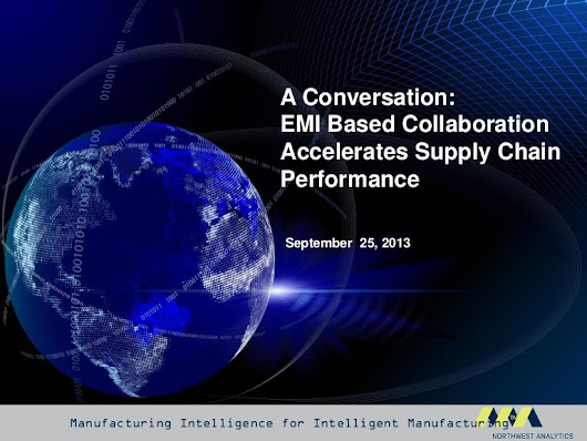 EMI Based Collaboration Accelerates Supply Chain Performance