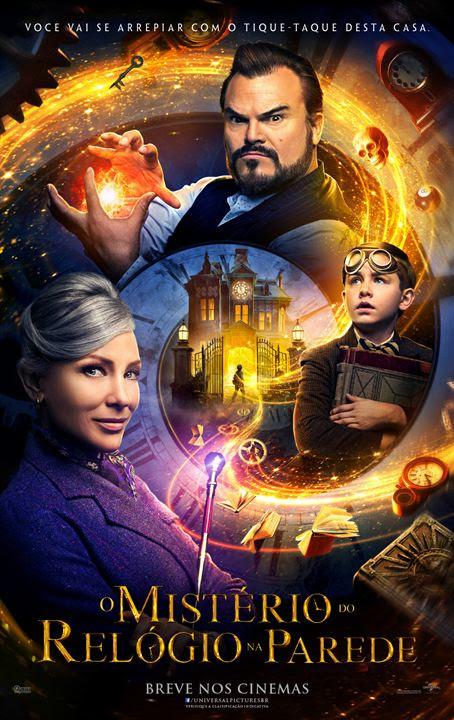 O Mistério do Relógio na Parede : Poster