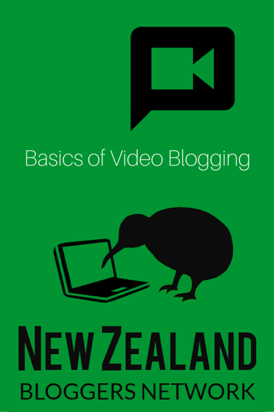 Auckland Meetup: Basics of Video Blogging by NZ Bloggers Network