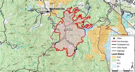 washington fire spreads   markleeville capradioorg