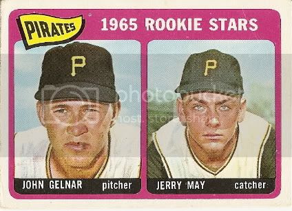#143 Pirates Rookie Stars: John Gelnar and Jerry May