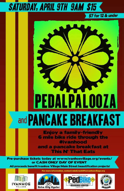 You're invited: Pedalpalooza & Pancake Breakfast