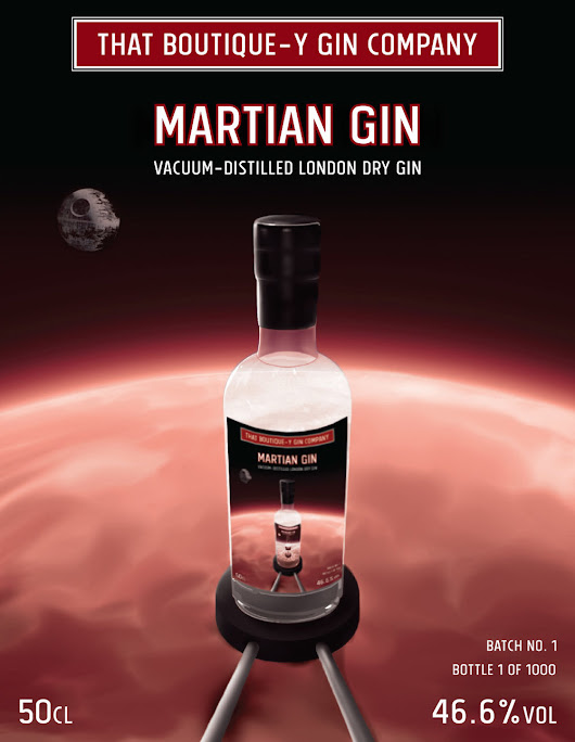 Get Your Botanicals To Mars - That Boutique-y Gin Company's Martian Gin