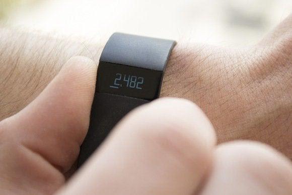 medidas de força Fitbit
