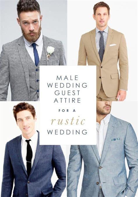 guest wear   rustic wedding mens