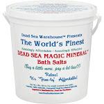 Dead Sea Warehouse Bath Salts, Dead Sea Magic Mineral - 80 oz