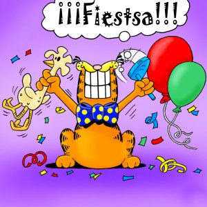 Fiesta de cumpleaños Garfield