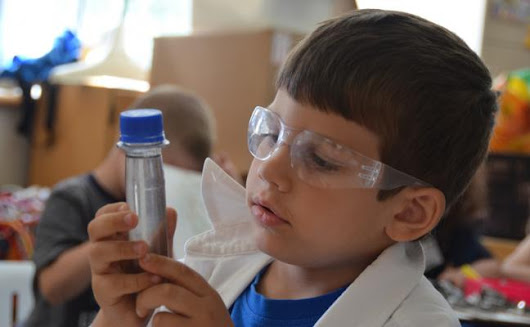 Scientists in School – All kids can be scientists!