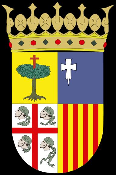 Archivo:Escudo d'Aragón.svg