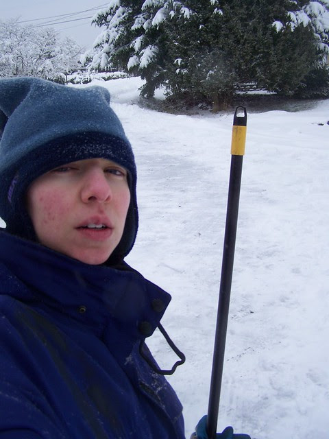jan 117 Me an' my snow-clearing  broom!
