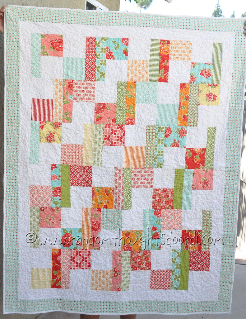 marmalade Baby quilt