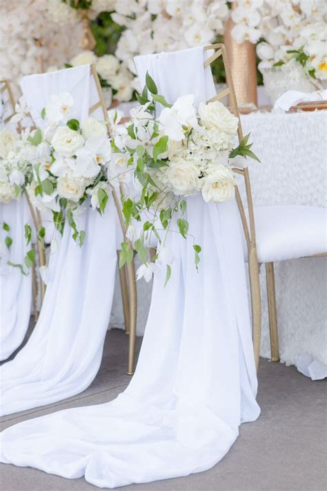 Best 25  Wedding chair covers ideas on Pinterest   Wedding