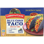 Garden Of Eatin' Blue Corn Taco Dinner Kit - Blue Corn - 9.4 Oz - Pack of 12