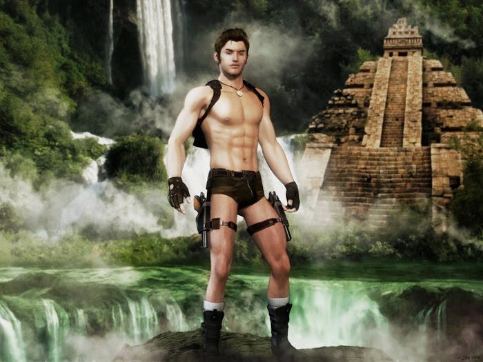 Lara Croft Male Cosplay