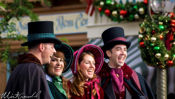 Disneyland Resort, Disneyland, Main Street U.S.A., Christmas Time, Christmas, Taping