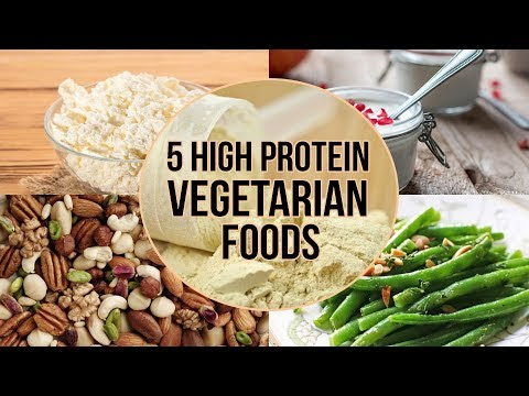 Top 5 complete Protein Foods for vegetarian