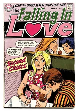 Falling In Love Comic Book