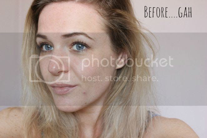 revlon colorstay before and after foundation