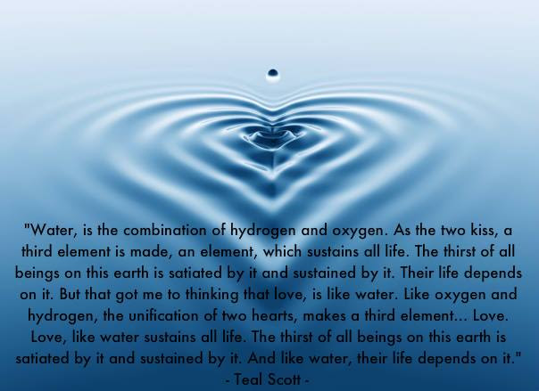 Quotes About Love Like Water 49 Quotes