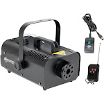 American DJ 1000W 1 Liter Medium Size Mobile Smoke Fog Machine w/ Remotes VF1000 by VM Express