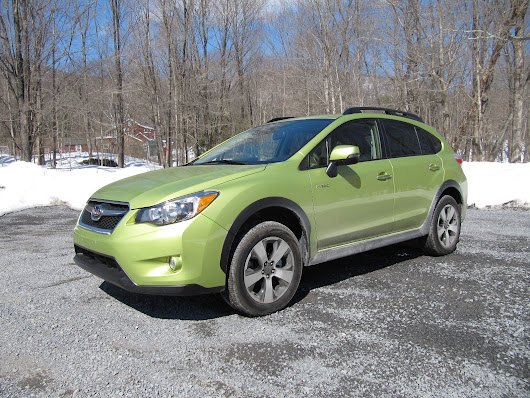 2014 Subaru XV Crosstrek Hybrid Video Road Test