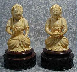 غرامة للغاية بوذا buddhas نمط مينغ (5 في. طويل القامة) - 19th ج