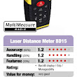 Laser Distance Meter BD15 | Rated High Quality Product