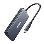 Anker 5-in-1 USB C Hub, with 4K USB C to HDMI , SD/TF Card Reader, 2 USB 3.0 Ports