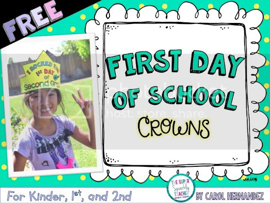 Back to School Crown FREEBIE