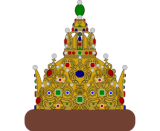 "The crown of ""Grand set"" - ""Astrahan crown"""