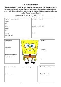 Spongebob Worksheet For Biology - Promotiontablecovers