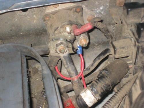Ford Ranger Starter Solenoid Wiring - Wiring Diagram