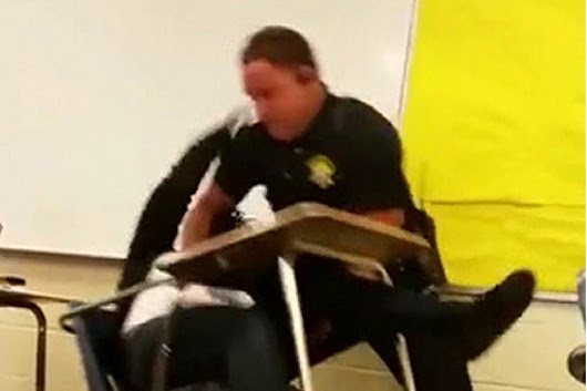 Video Shows Cop Body-Slamming Female Student in S.C. Classroom