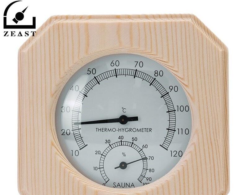 Comprar Madera único Termómetro Termómetros Humedad Termostato Sauna