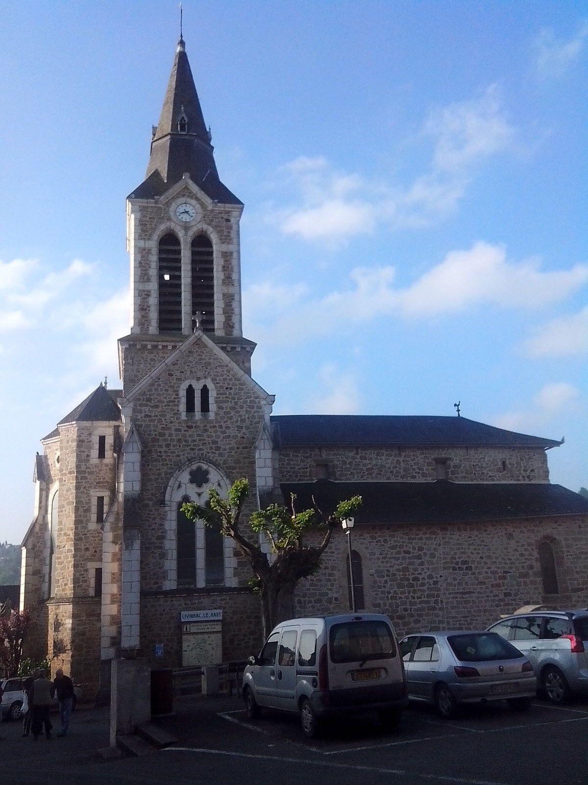 L'église de Livinhac le Haut.