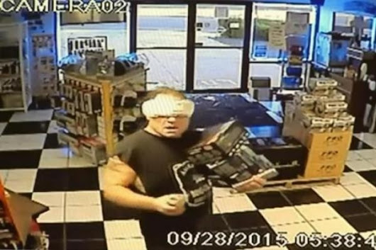 Maxi Pad Bandit Caught, Unmasked -