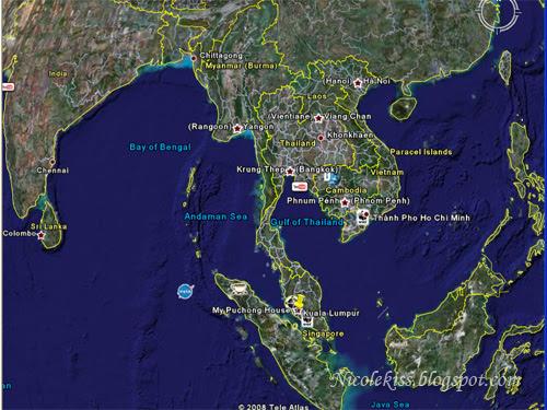google earth Thailand