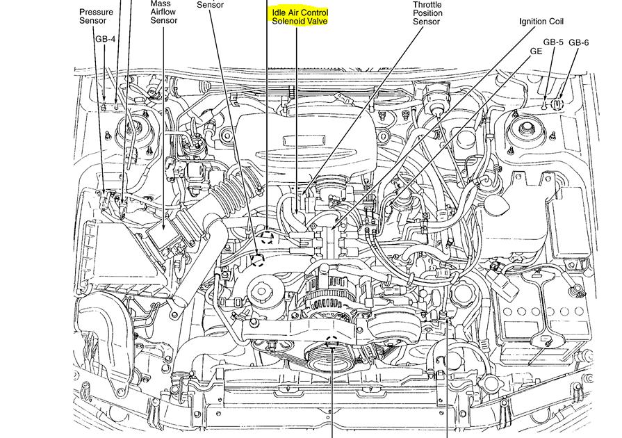 2008 Subaru Outback Parts Diagram